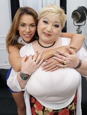 Big Tits Lesbian Porn Pictures